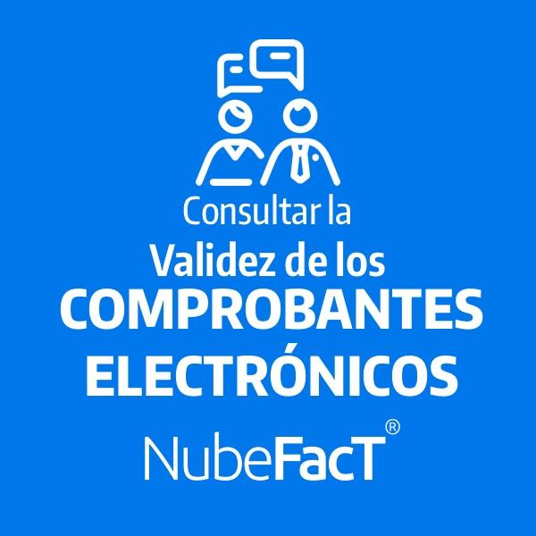 Consultar la validez de los comprobantes electronicos