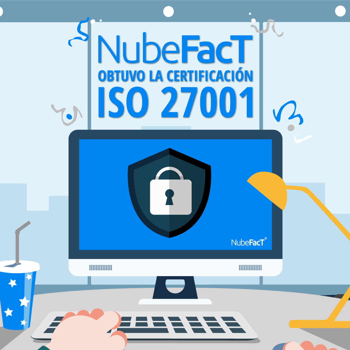 Nubefact obtuvo la certificacion iso 27001