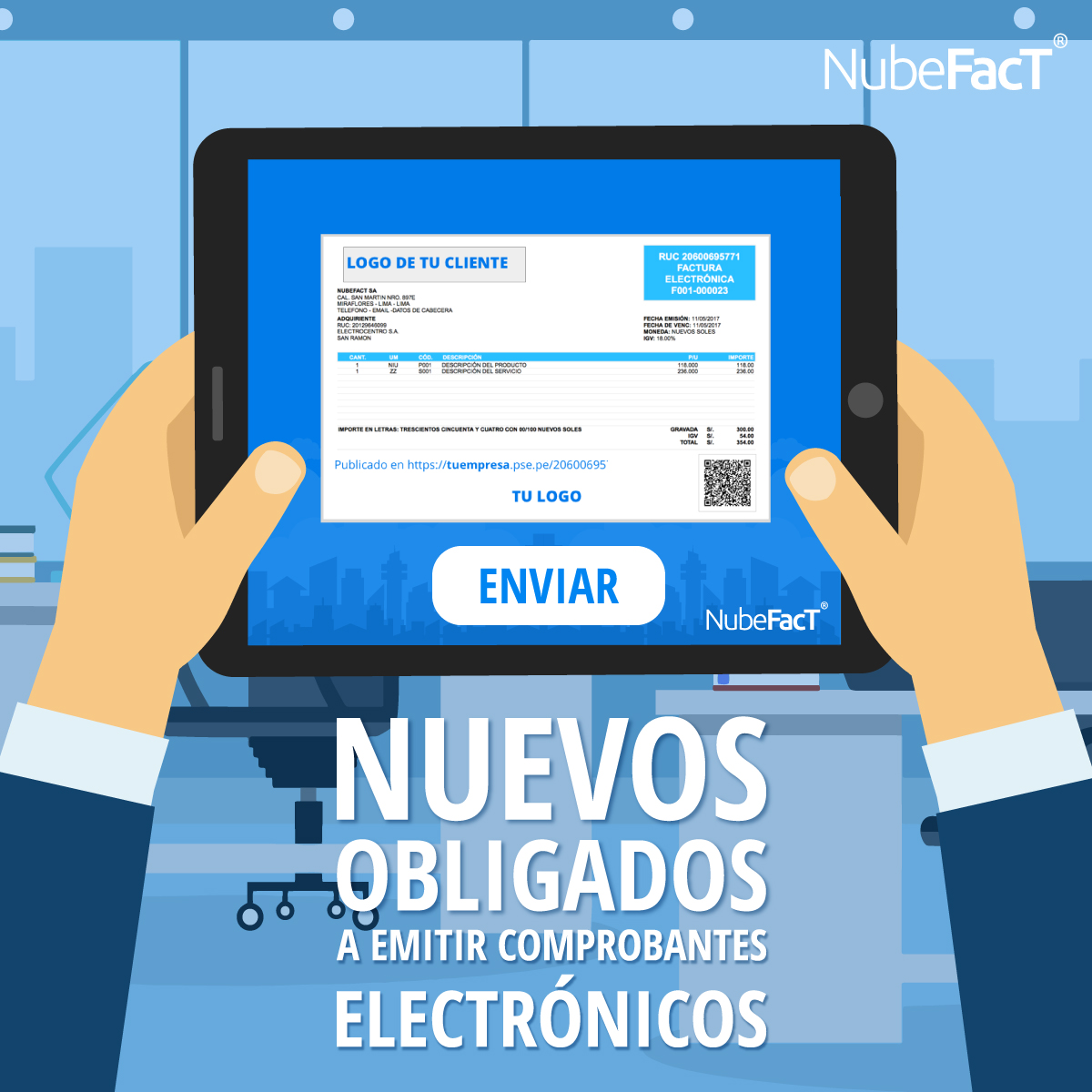 Nuevos obligados a emitir comprobantes de pago electronico