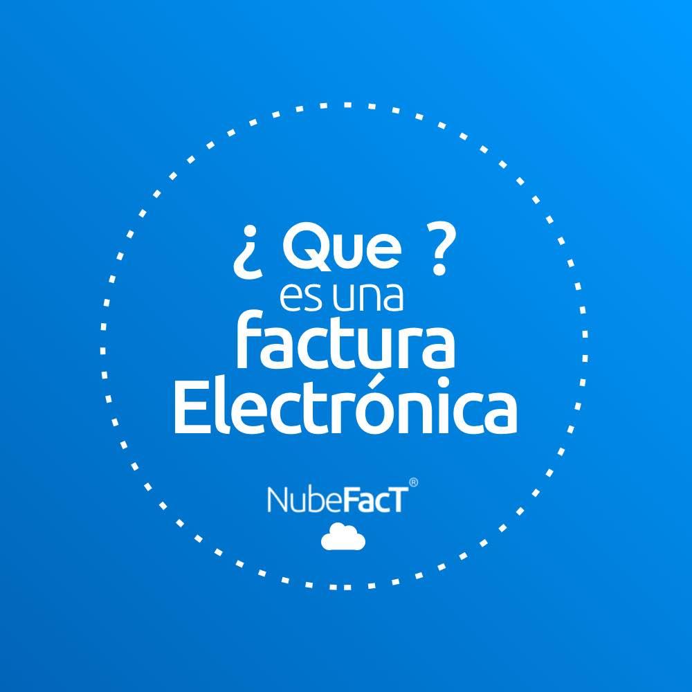 Que es la factura electronica