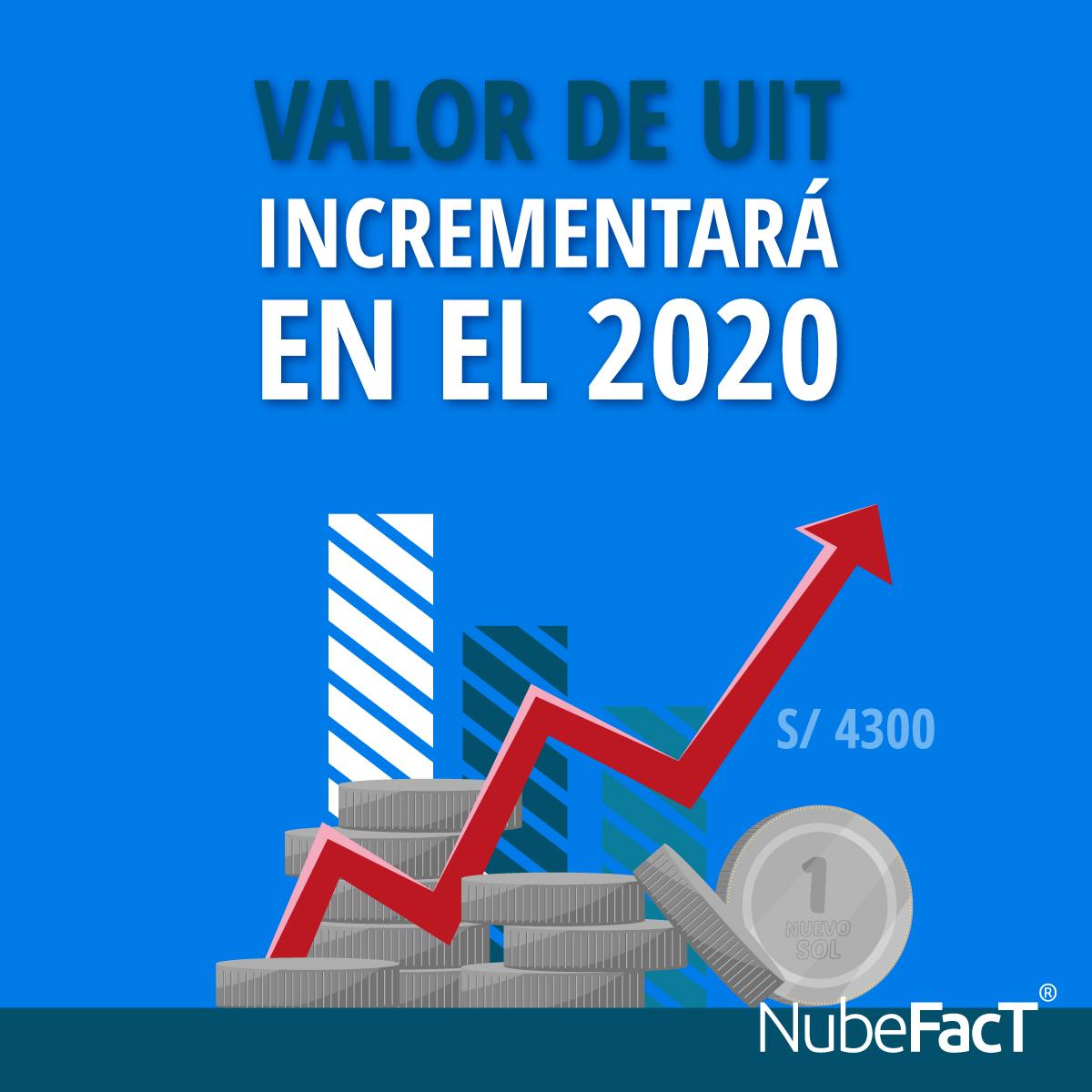Valor de la uit incrementara a s 4300 en el 2020